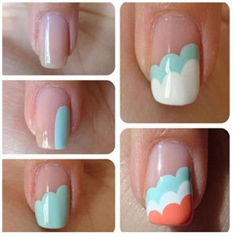 easy nail art designs step by step how to do nail art step by step 3 easy simple steps