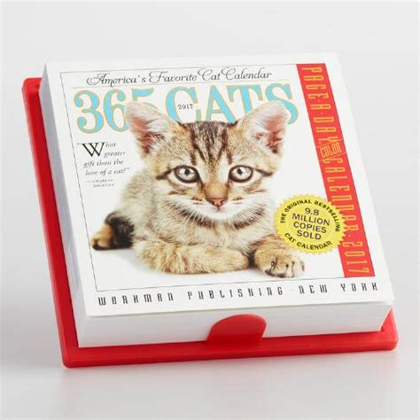 365 cats page a day calendar 1523500794 365 cats page a day calendar world market