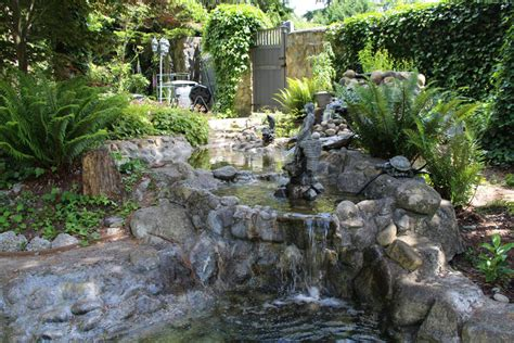 53 backyard garden waterfalls pictures of designs