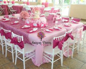 Barbie classic pink party ideas featured party seshalyn s party