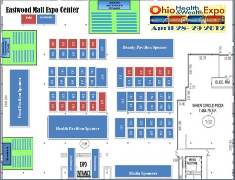 event floor plan ohio healthy wealthy expo