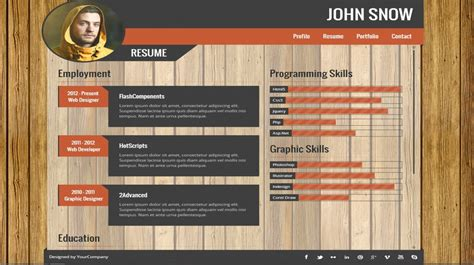 Portfolio Resume by 21 Best Resume Portfolio Templates To Free Wisestep