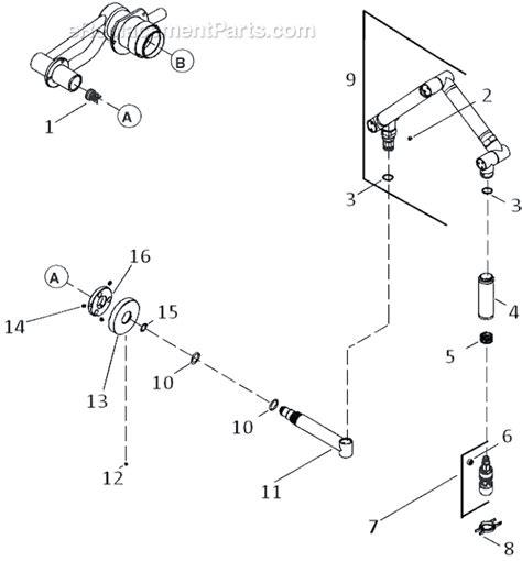 kohler kitchen faucet parts diagram kohler k 6228 c12 parts list and diagram