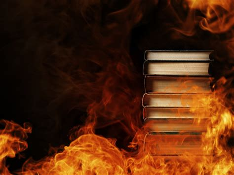 burned in books books destroyed to knowledge gnosticwarrior
