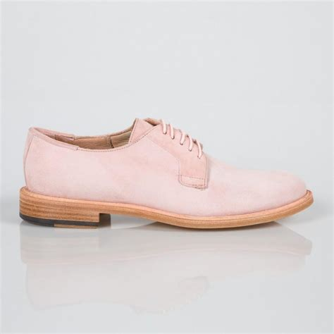 paul smith s dusty pink suede stokes shoes in pink