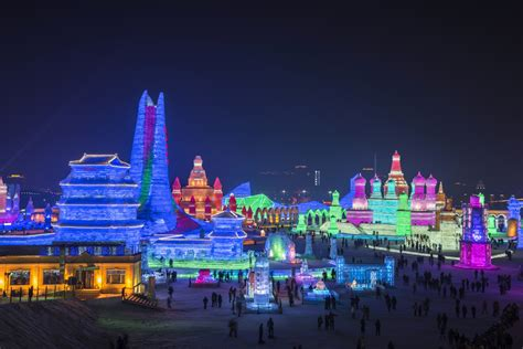 harbin festival harbin international and snow sculpture festival