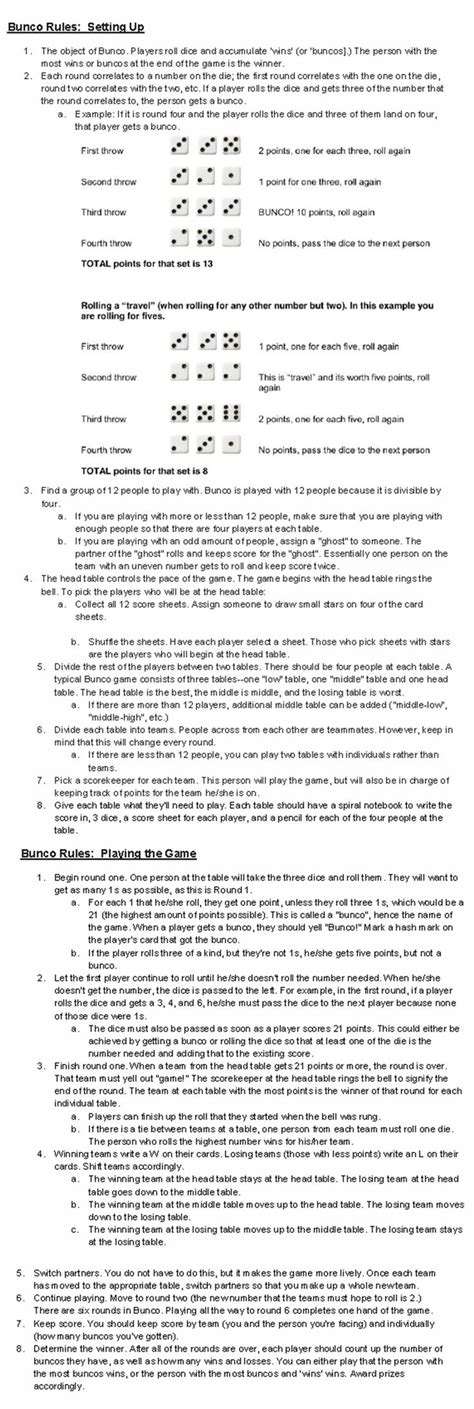 printable euchre instructions 41 best bunco babes images on pinterest bunco ideas