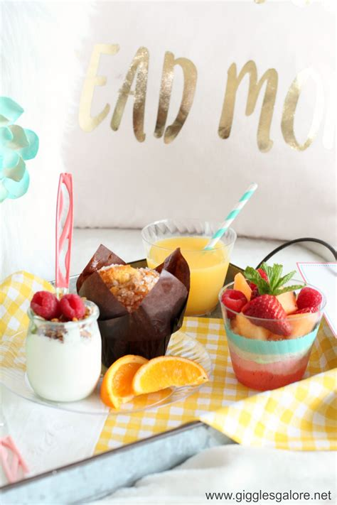 breakfast in bed ideas sweet mother s day breakfast in bed ideas