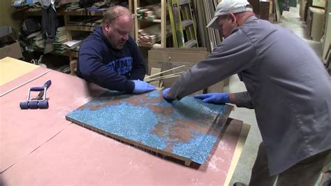 Kitchen Counter And Backsplash Ideas how to make custom copper countertops youtube
