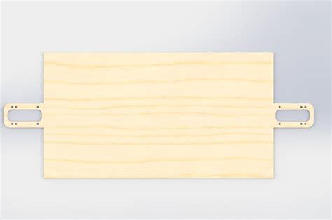 longboard truck template longboard template solidworks 3d cad model grabcad