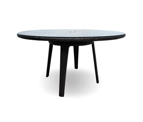 senna 60 quot dining table with tempered glass top
