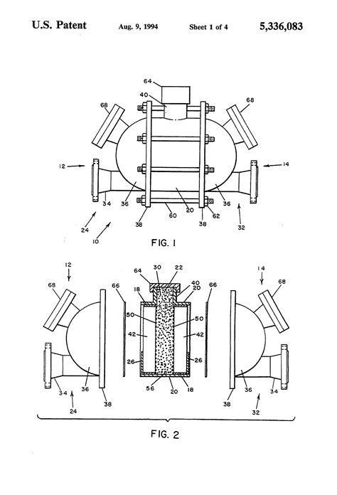 patent sections patent us5336083 detonation arrestor with cooling