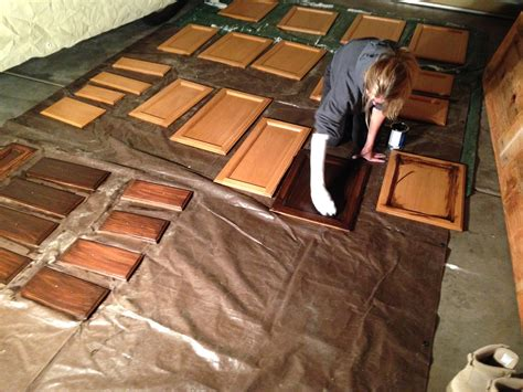 stained woodwork gel stained cabinets goodbye honey oak gold confetti