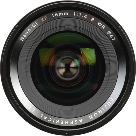 Fujifilm Lens Xf 16mm F 1 4 R fujifilm xf 16mm f 1 4 r wr lens avc photo store school