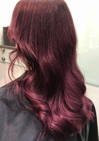reddish purple hair color top 10 purple hair ideas this season s colour