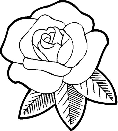 rose coloring pages images rose coloring pages for girls flowers flower coloring