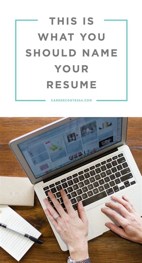 what should you name your cover letter this is what you should name your resume search