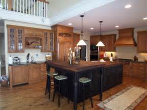 attractive White Wood Stain Kitchen Cabinets #4: alder-with-black-rubbed-island.jpg