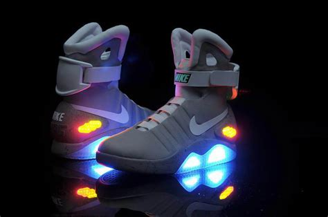 back to the future basketball shoes nike confirms release of nike mags quot back to future quot power