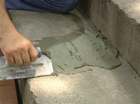 how to give new to an tile floor how to give a tile facelift to an ordinary concrete porch