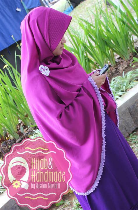 Jilbab Syari anggun dengan syar i