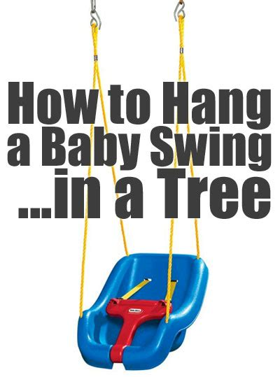 how to hang a picture little tikes outdoor baby swing how to hang in a tree