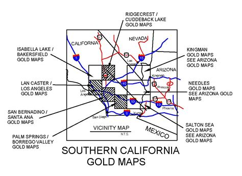 Search In California California Gold Maps Treasure Maps Gold Panning Maps