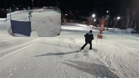Popular Mechanics Eric Limer third person vr skiing is a real life video game that ends