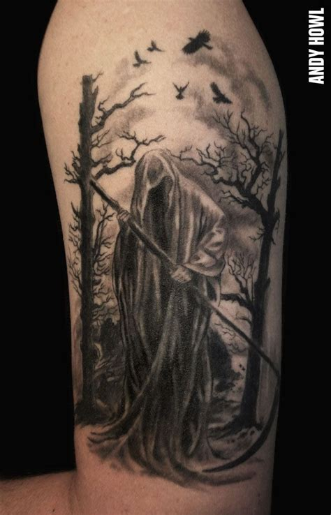 grim reaper forearm tattoo grim reaper grim reaper arm on