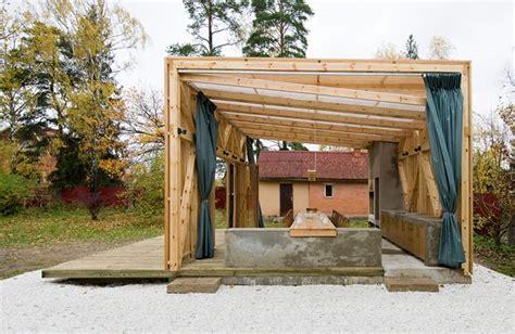 the arbor open structure pergola design by kerimov prishin architects homesthetics