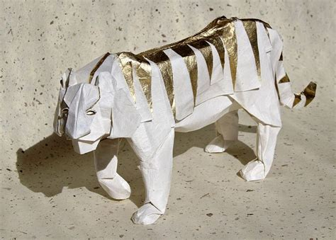Tiger Origami - 全部尺寸 tiger via flickr origami animals