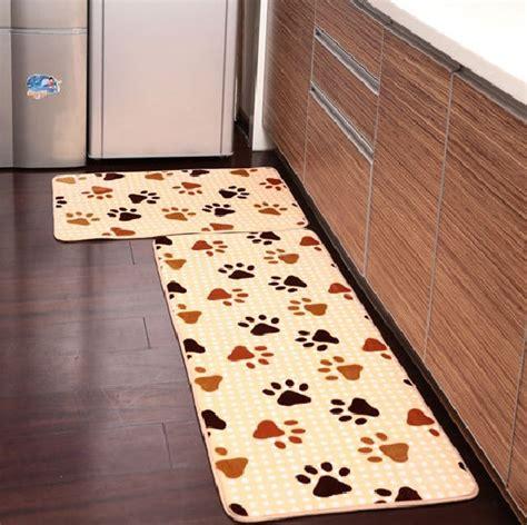 Kitchen decorative mats for wooden kitchen floor