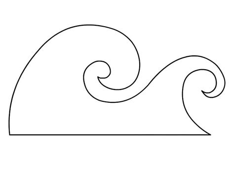 template of waves waves pages printable coloring pages
