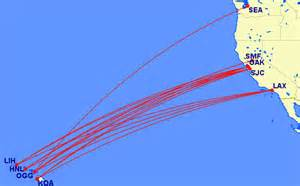 free flights to hawaii from the west coast using