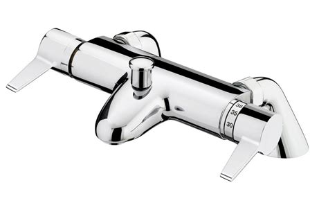 bath shower mixer taps thermostatic bristan design utility lever thermostatic bath shower