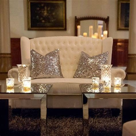 Fab Home Decor Lush Fab Glam Blogazine Pretty In Sequins And Metallic Home D 233 Cor Ideas