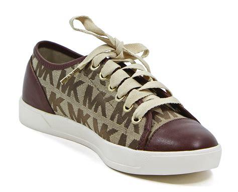 michael kors tennis shoes michael kors city sneaker logo jacquard lace up tennis