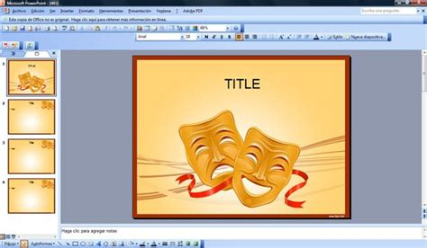 Tragedy Powerpoint Templates And Drama Ppt Microsoft Powerpoint Templates Theatre