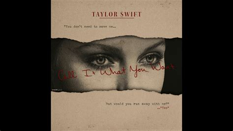 taylor swift call it what you want audio taylor swift call it what you want official audio