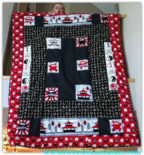 ninja pattern fabric i am ninja quilt robert kaufman fabric by sweet benanna