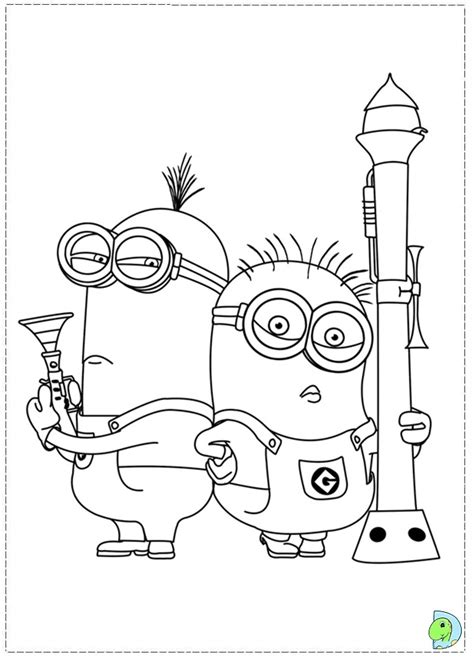 minion golfer coloring page free coloring pages of minion golf picture 3621