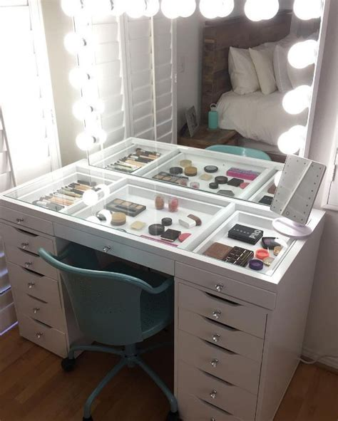 Best 25 ikea makeup storage ideas on pinterest makeup desk with mirror dressing table inspo