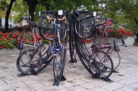 Municipal Bike Racks by Innovative Bike Rack Makes Parking Into Sculpture Greater Greater Washington