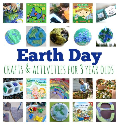 3 year crafts earth day crafts and activities for 3 year olds no time