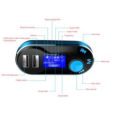 Sale Fm Modulator With Usb Aux Micro Sd Slot Sd Card Slot Multi new car fm transmitter fm modulator upgraded 2 usb charge