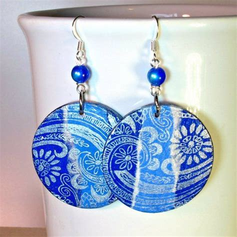 decoupage pendant tutorial decoupage mixed media earrings diy diy jewelry