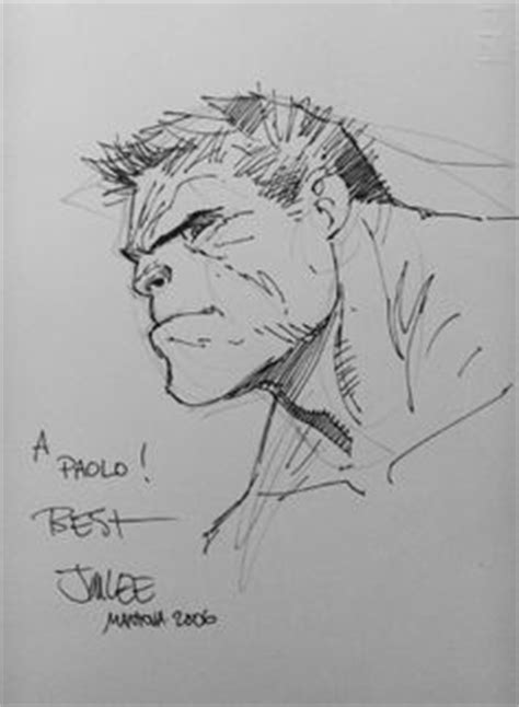 Batman by Jim Lee I would love a sketch by Jim. He and