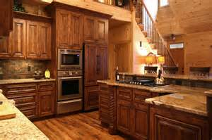 Cabin Kitchen Cabinets by Rustic Home Project 1 Walker Woodworking