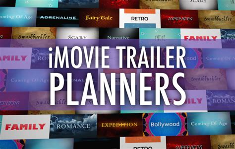 imovie templates plan a better imovie trailer with these pdfs learning in