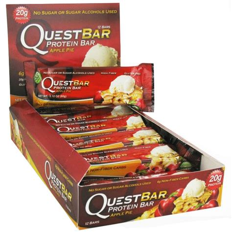0 carb protein supplements quest bar apple pie high protein nutrition fiber low